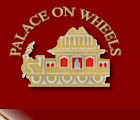 Palace on Wheels. The luxury tourist train.